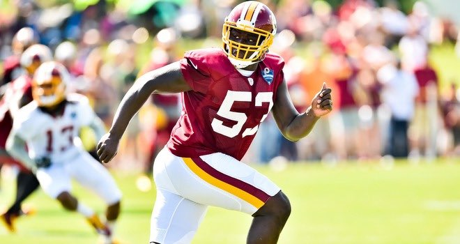 Roster Move: #Eagles claim LB Steven Daniels off waivers from the Washington Redskins. https://t.co/i4Xza9h1yQ