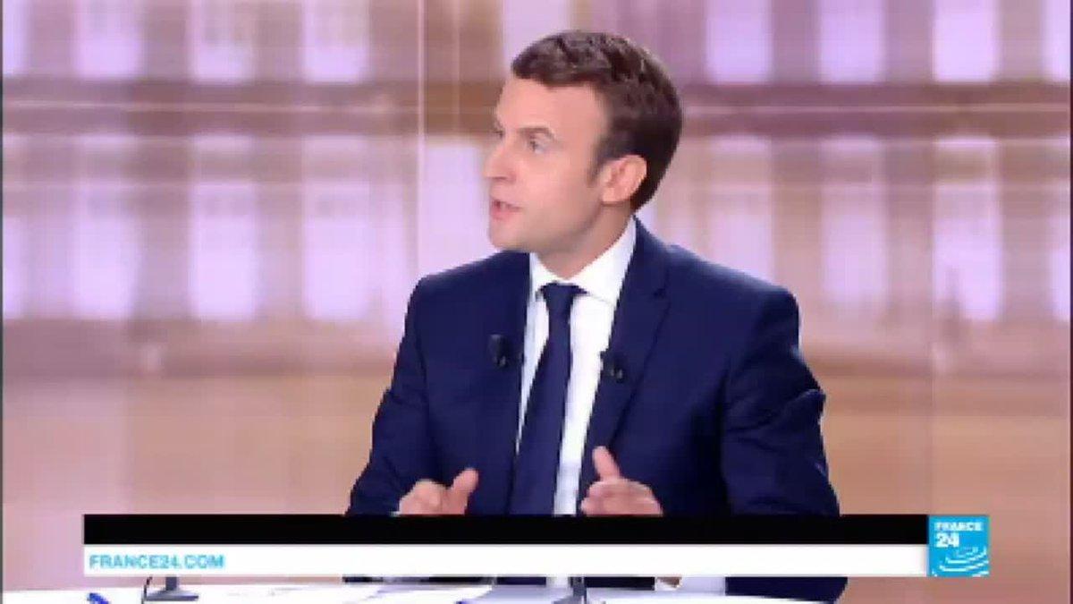 VIDEO -  France Presidential Debate: What is Macron's program on education?