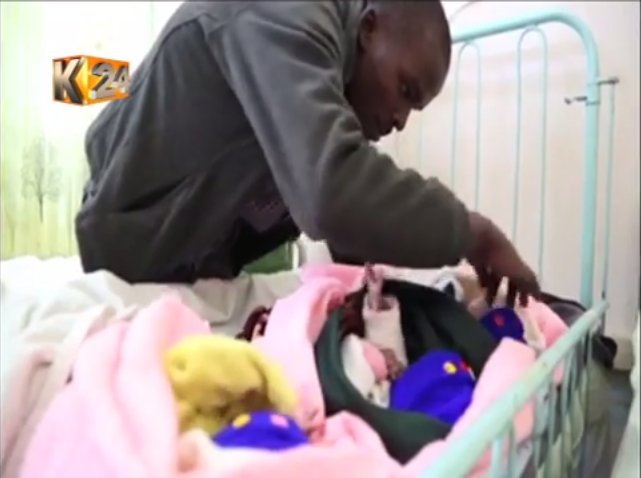 Muranga family calls for help to clear medical bill after delivery of triplets