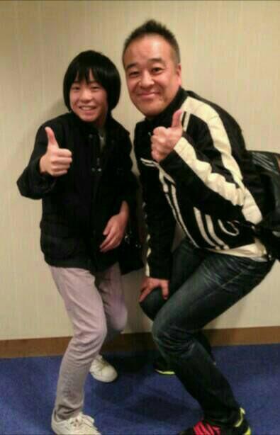 #櫻子さん「家族ゲーム」でお世話になった佐藤祐市監督。今回は佐藤監督の担当回ではなかったのですが、お会いできたので4年前