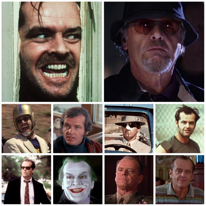 Happy 80th birthday to Jack Nicholson! Which performance is your favourite?
