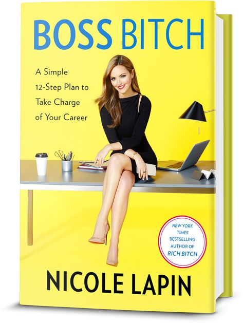 Free Copy of BossBitch by Nicole Lapin books Reading freebies freebook freebie