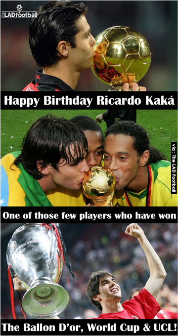 Happy 35th Birthday Ricardo Kaká