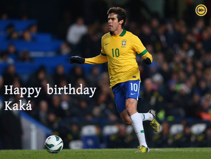 Happy birthday to one of the greatest midfielders that the world has ever seen, kaka!