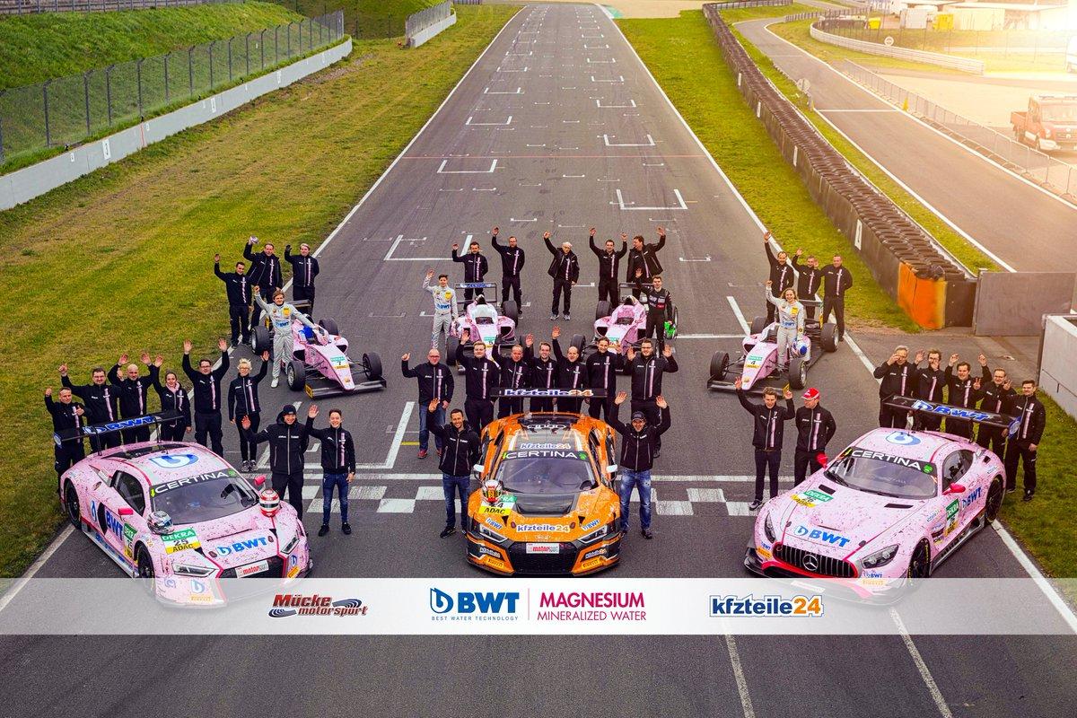 Teamsport! 👊👊👊 #MückeMotorsport #BWT #kfzteile24 #AudiR8LMS24 #AudiR8LMS25 #amggt3 #ADACGTMasters #ADACFormel4 https://t.co/sQZJ6PAuVe