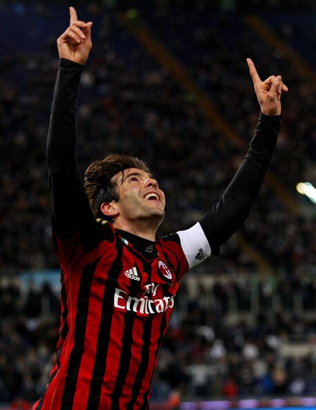 The man, the myth, the legend. Happy Birthday, Kaka. Always bleed red and black.
