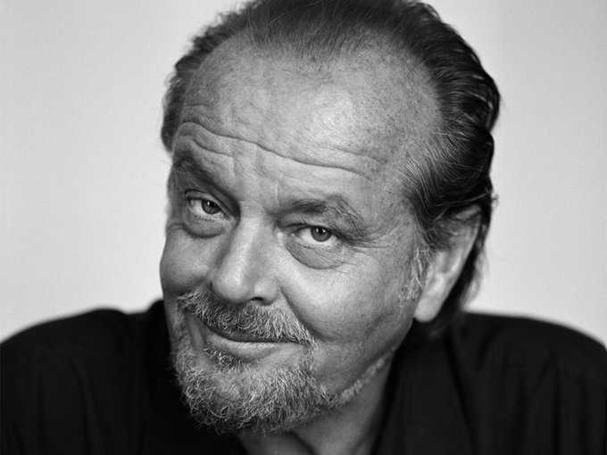"""The minute that you\re not learning I believe you\re dead.\""  Happy 80th Birthday to acting legend Jack Nicholson!"