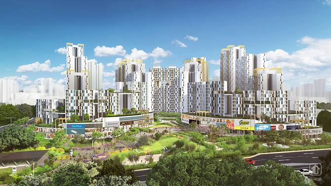 2 new public housing projects to be built in Toa Payoh