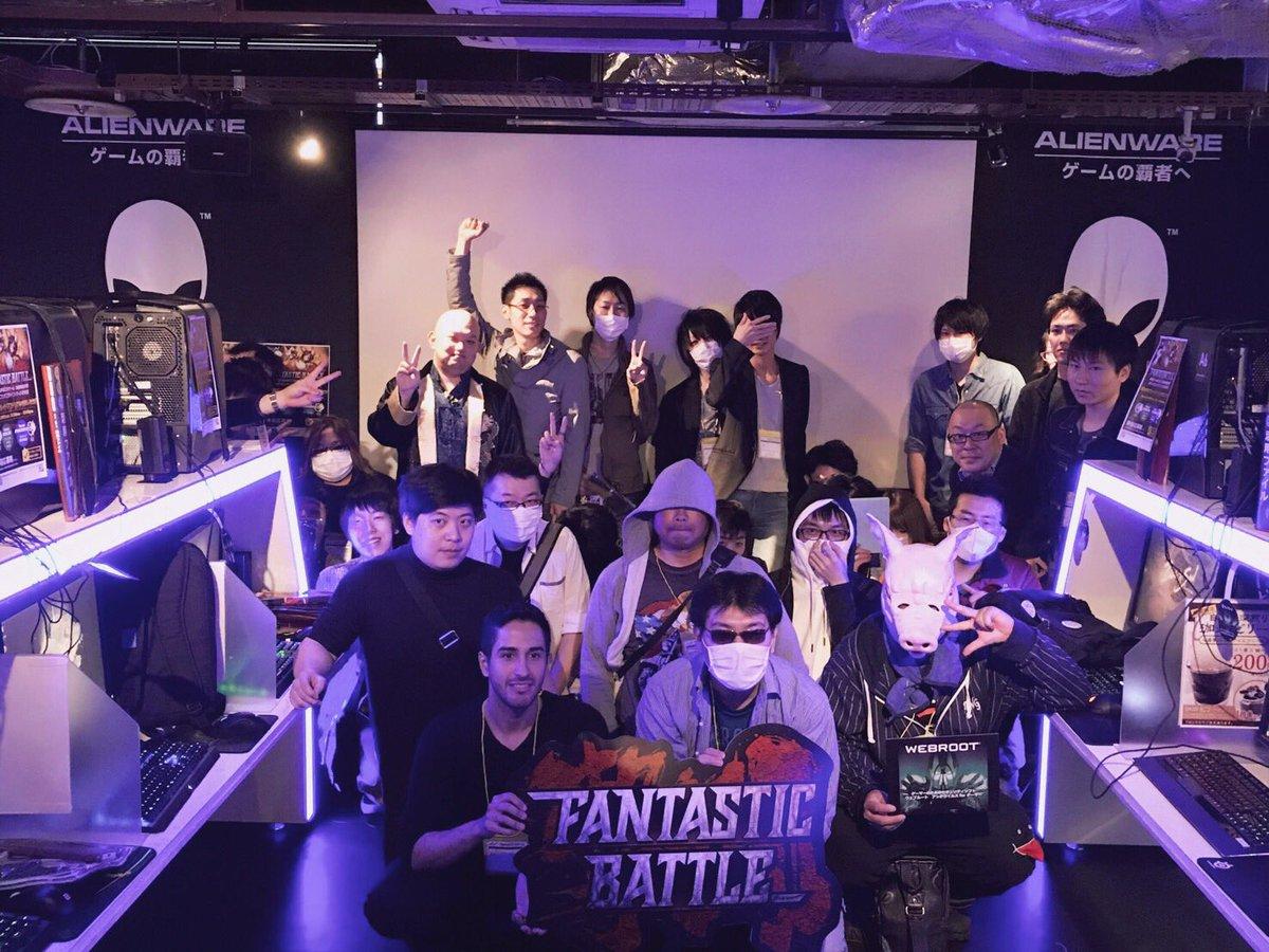 FANBATに参加された方々おつかれさまでした!そして、ありがとうございました。東京の集合写真ぺたっ♪( ´▽`)#ブレ