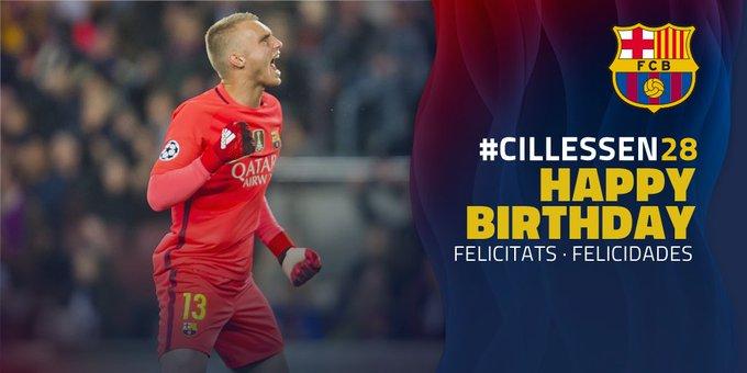 Happy Birthday, Jasper Cillessen! ¡Feliz cumpleaños, Jasper Cillessen!