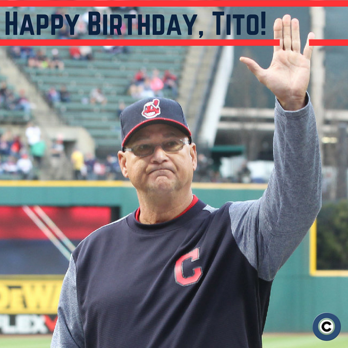 Terry Francona turns 58 today! Wish the Tribe\s skipper a happy birthday!