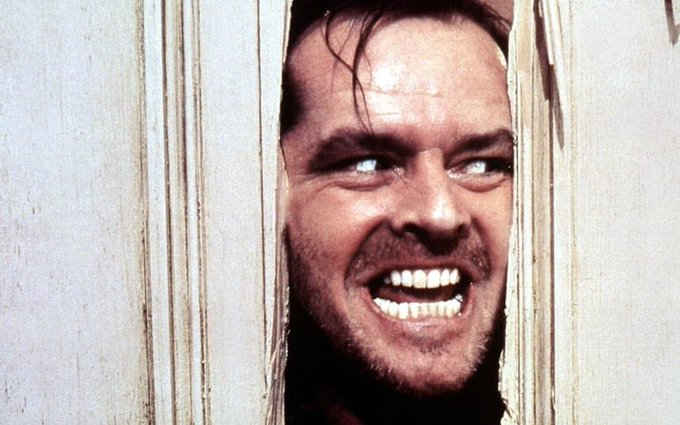 Happy birthday Jack Nicholson! i love this man. he\s a legend. and he\s 80 today so watch his films.