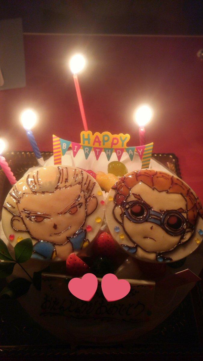 まって、お母さんありがとうございます🙇💕💙💚💛💜❤大好きなものに囲まれてほんとに幸せだぁぁぁぁぁぁぁ!!!ケーキのクオリ