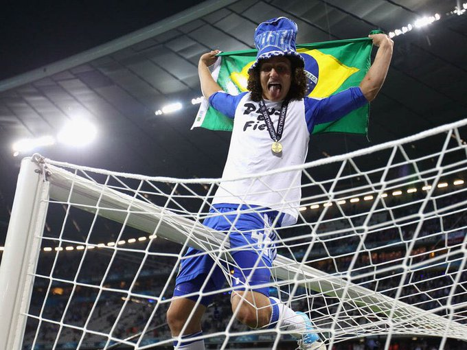 Happy Birthday to David Luiz. Wish you all the best and win a game against Spurs.  Geezer