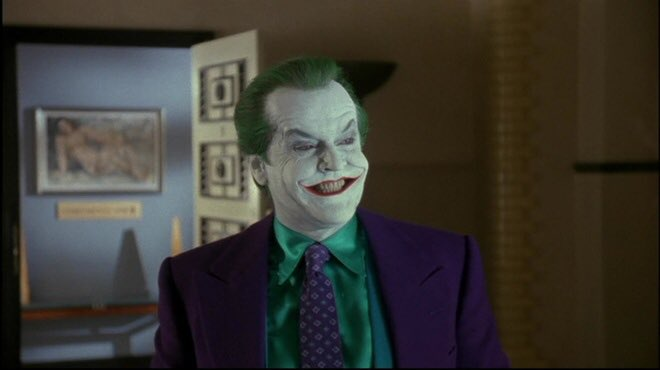 Happy bday to Jack Nicholson!!!!!  Not only is he a great actor but he was also a great Joker as well!!!!!!!!