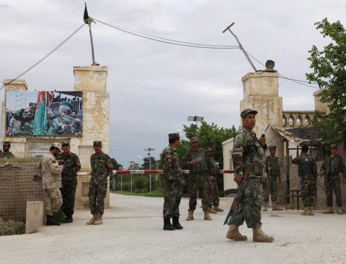 Confusion, chaos after Taliban breach Afghan base in deadly attack