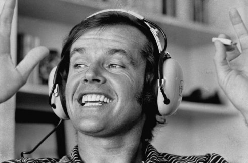 Jack Nicholson when he listens to the Talented Slackers podcast. Happy Birthday Jack!