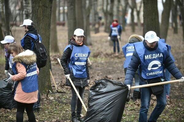 В парке «Наташинские пруды» в Люберцах состоялся #медиасубботник #чистоеподмосковье https://t.co/JBJKJCM4BC