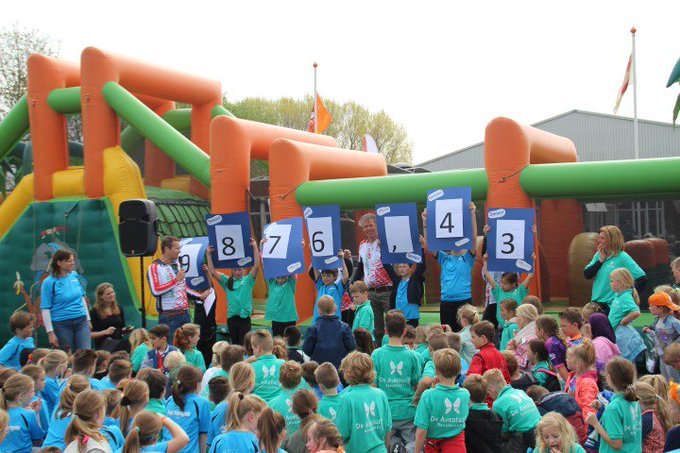 Basisschoolleerlingen uit Maasdijk rennen ruim € 9.800 bij elkaar https://t.co/N8gKU1I1BB https://t.co/9pJn4Khczo