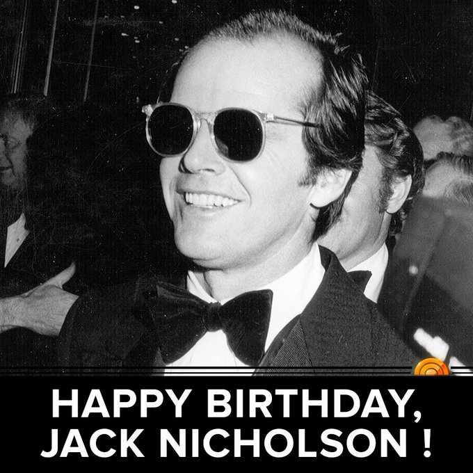 Happy 80th birthday, Jack Nicholson!