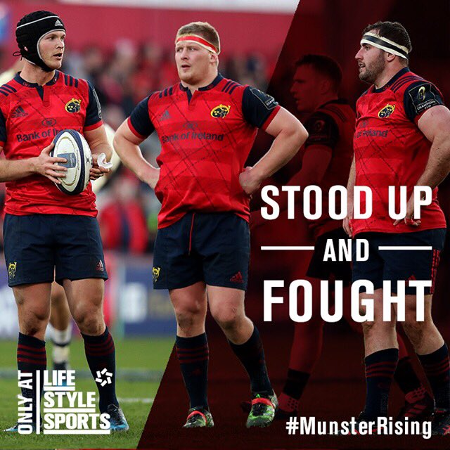 It wasn't the result we were hoping for but that was certainly a campaign we will remember! #MunsterRising #SUAF https://t.co/eQA0Mr9bOZ