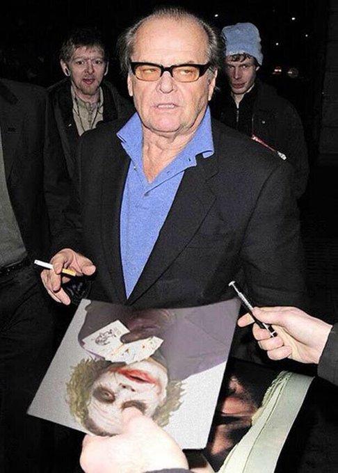 Happy birthday, Jack Nicholson.