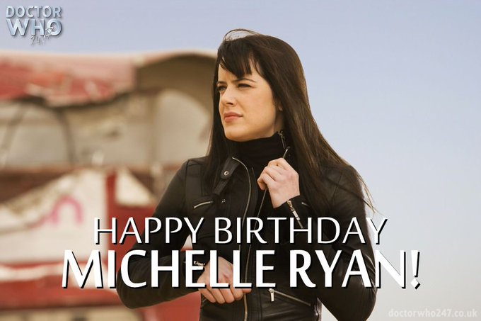 Happy Birthday to Planet of the Dead\s Honourable Lady Christina de Souza herself, Michelle Ryan!