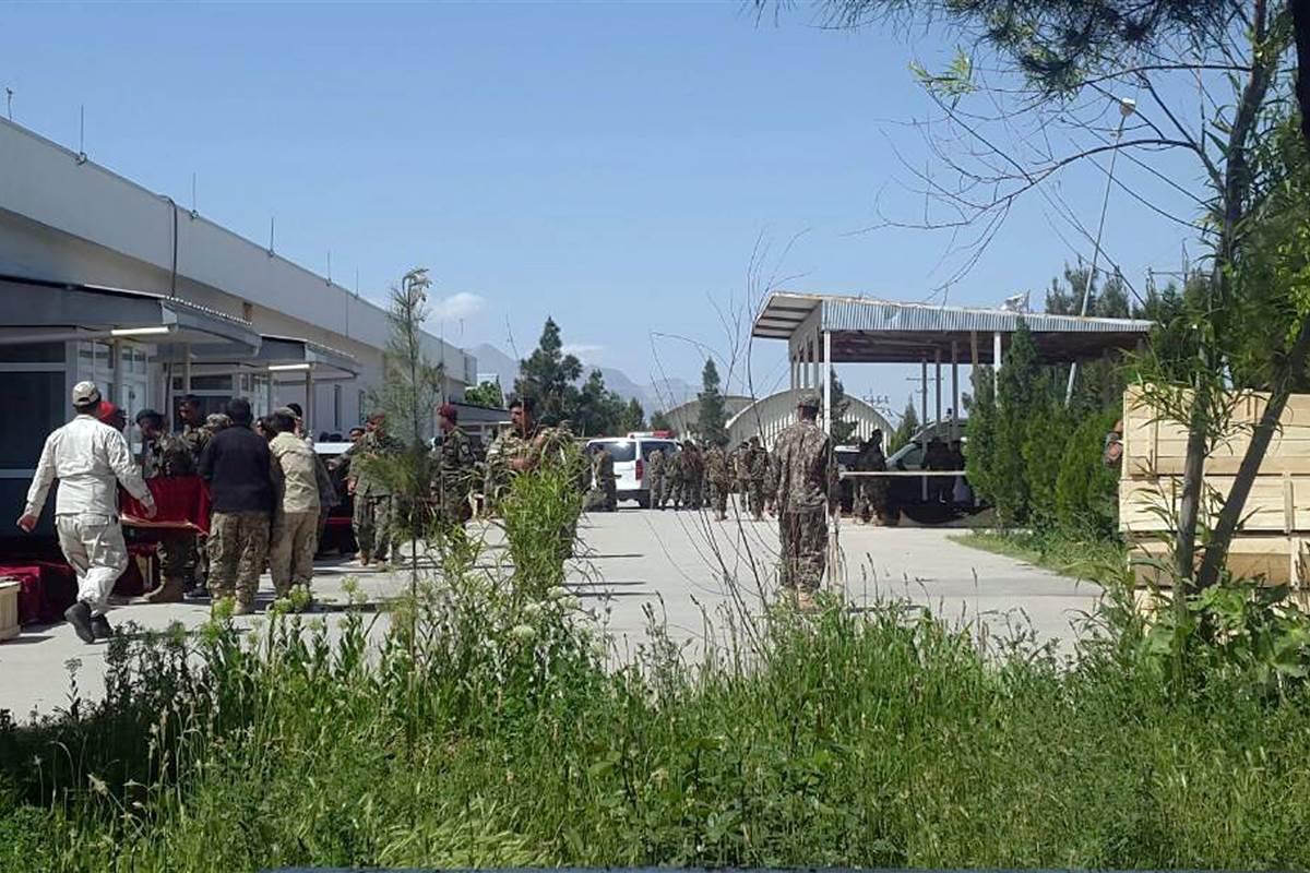 More than 100 killed or injured at Afghan military base Taliban attack