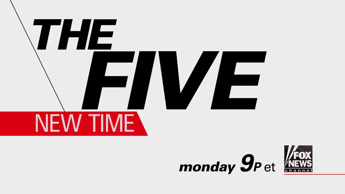 MONDAY on Fox News: The Five' Goes to Primetime - Tune in at 9p ET on Fox News Channel!