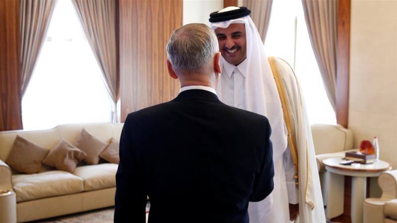 US defence secretary visits Qatar to 'reinforce' ties