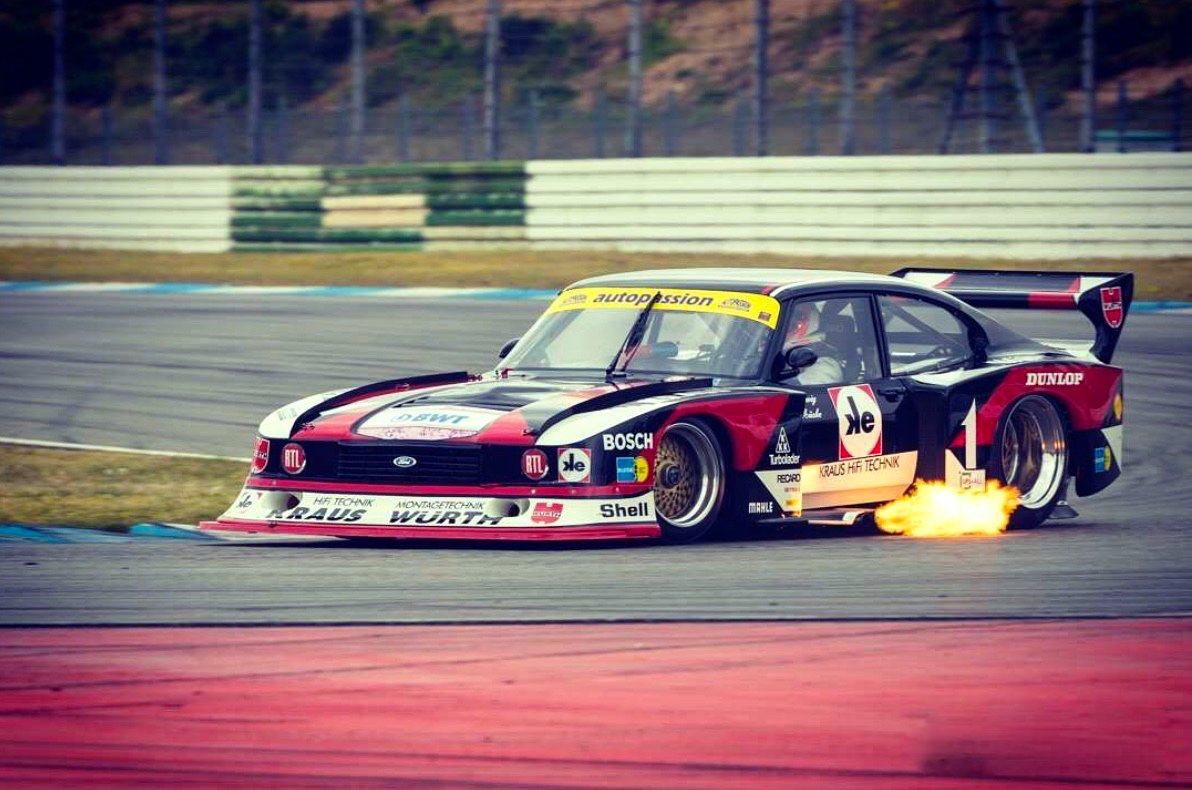 Hot Greetings from Hockenheim 🔥🔥🔥 #MückeMotorsport #MückeMotorsportClassic #FordZakspeedTurboCapri #PeterMücke https://t.co/8mCV6NGbtQ
