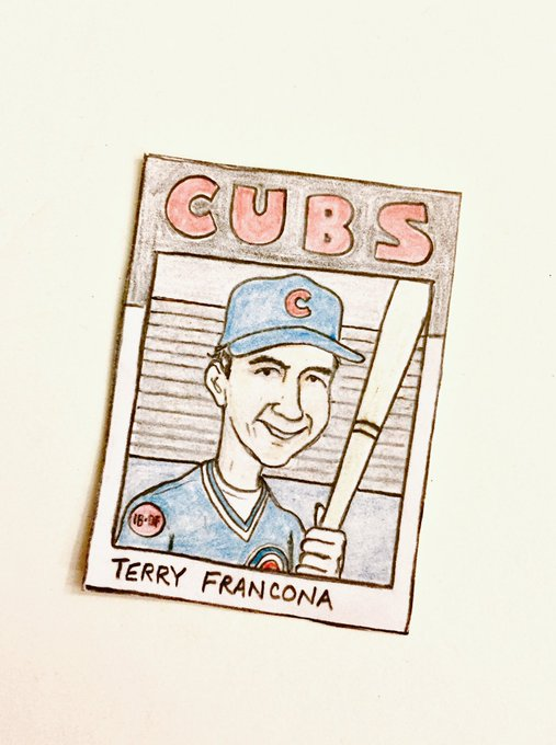 Happy birthday, Terry Francona!