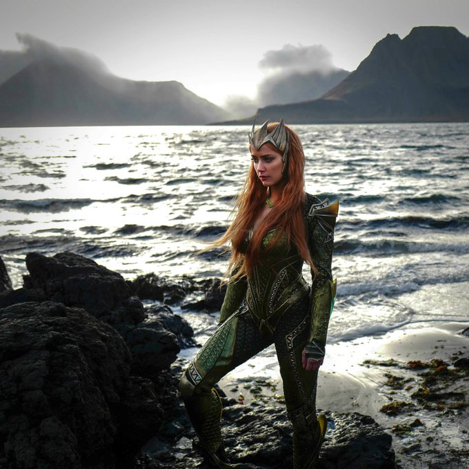 A Happy Birthday to our Queen Mera--Amber Heard!