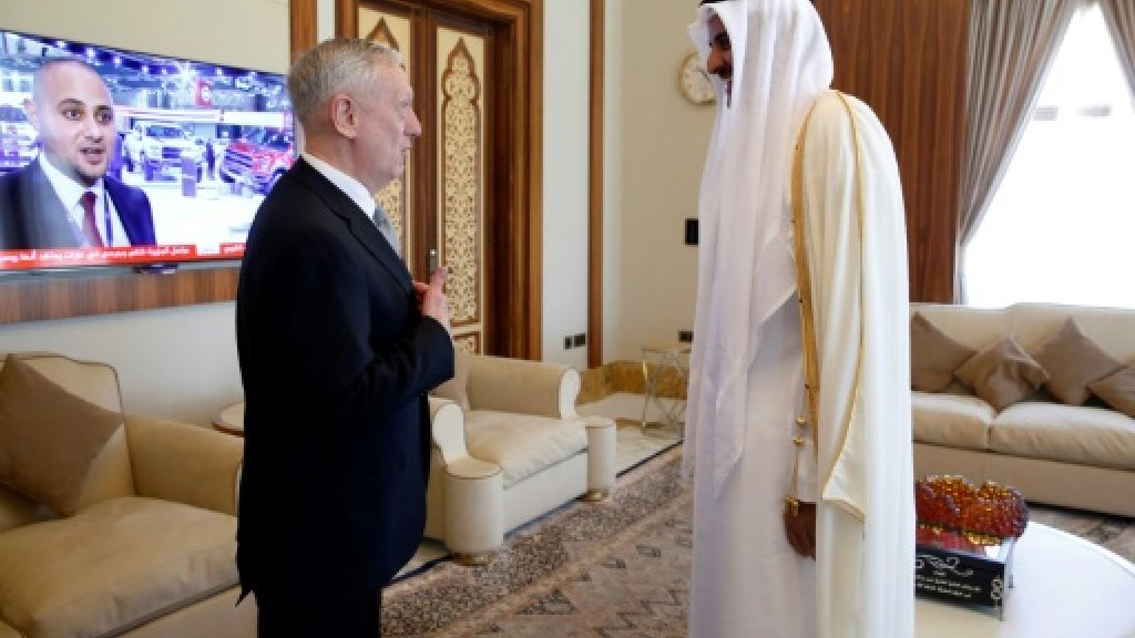 US defence secretary visits key ally Qatar