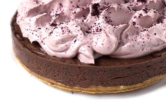 Avocado Chocolate Cake With Açaí  https://t.co/HmEpOeEDeX #vegan