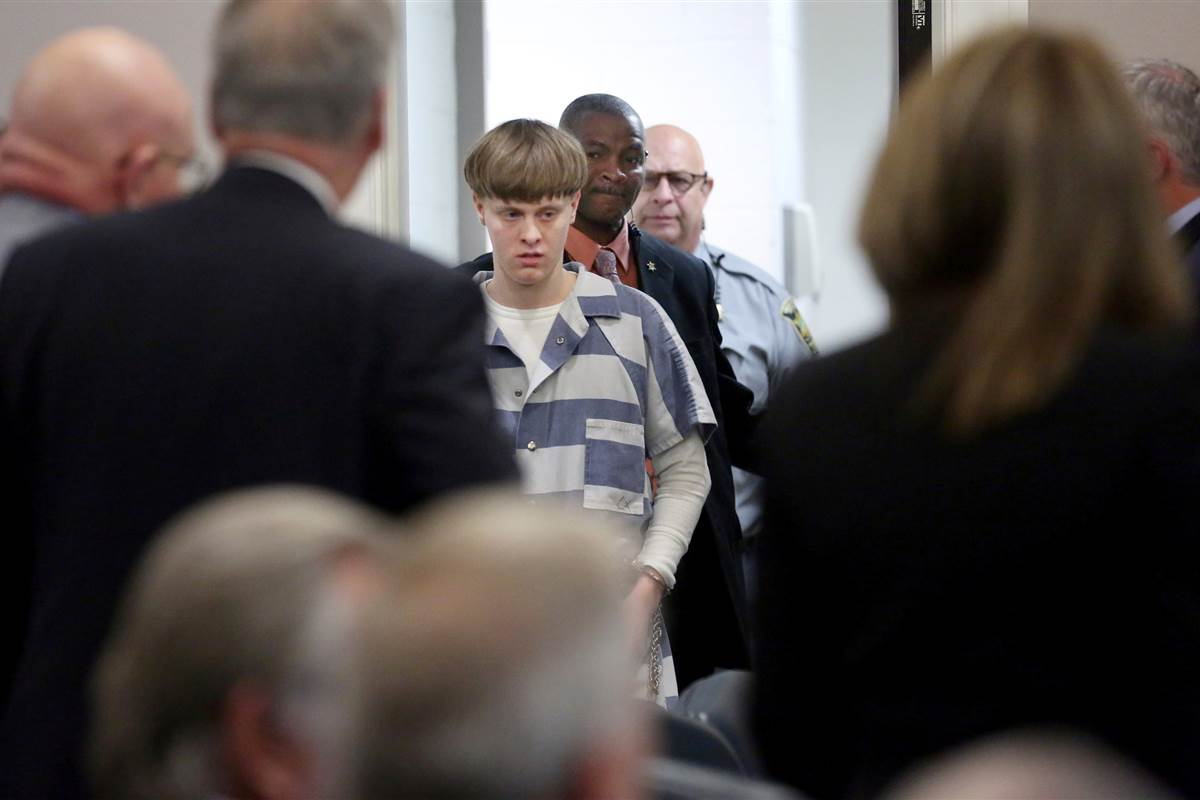 Charleston church shooter Dylann Roof moved to death row at Indiana prison