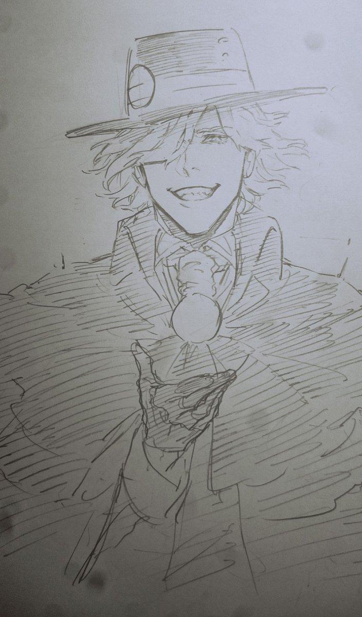 エドモンさんの凶悪な笑顔の既視感HUNTER×HUNTERの王が美味しいごはん食べてたときのやつだ