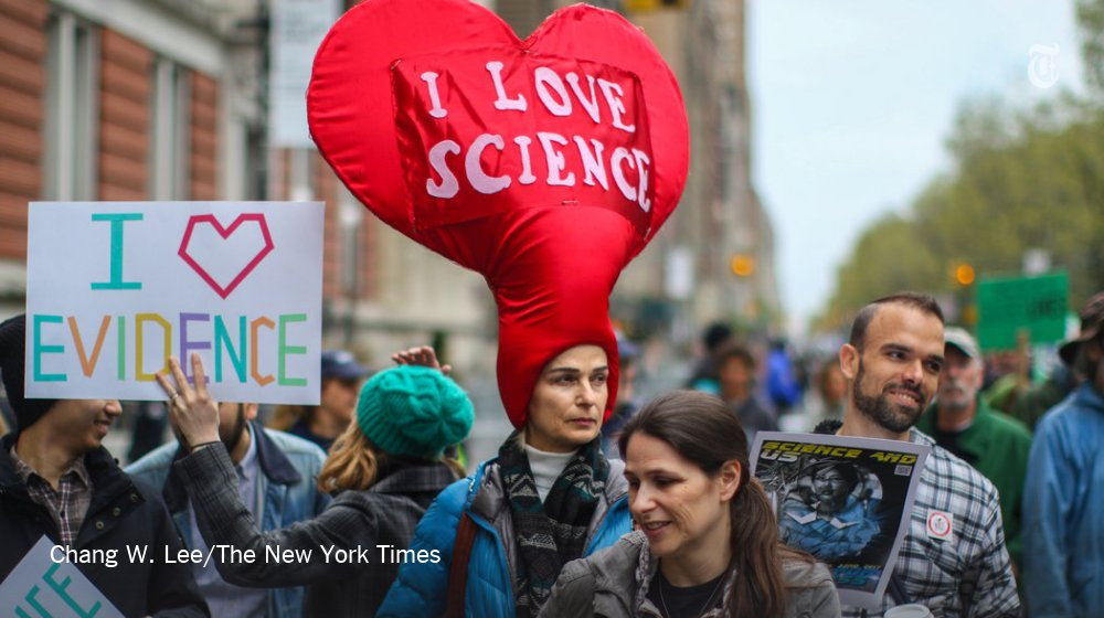Pictures from the March on Science from the U.S. and around the world