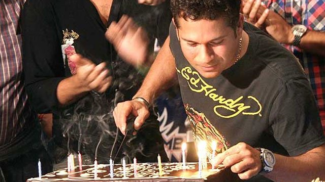 Happy birthday       Sachin Tendulkar     God of Cricket