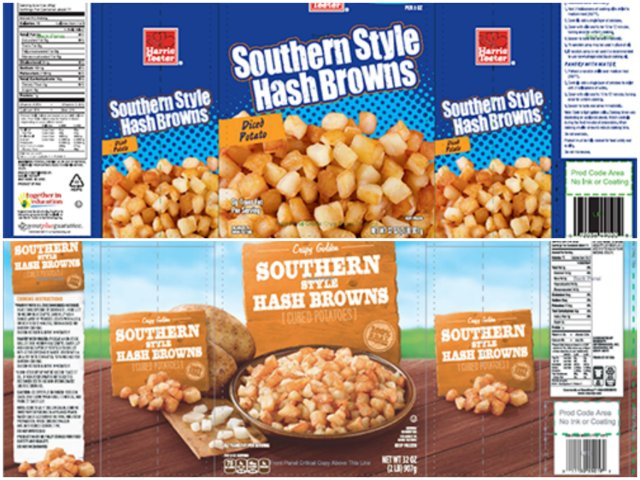Hash browns recalled for 'golf ball materials' https://t.co/FiCcHfUDOp