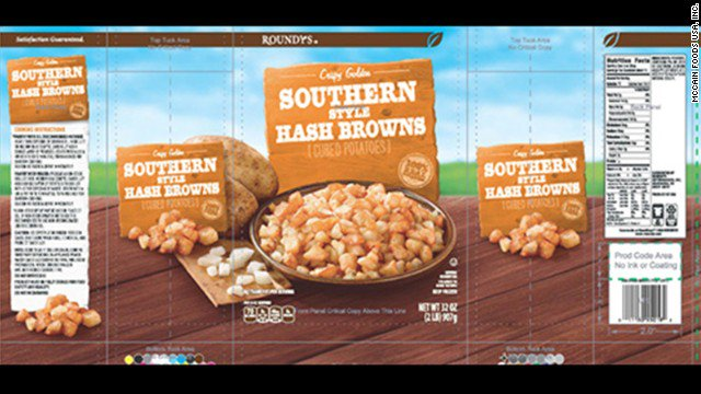 Watch out for the frozen hash browns from Harris Teeter and Roundy's -- they may contain bits of golf balls. https://t.co/QlcmQL6E6E