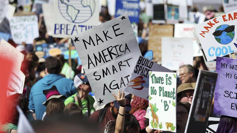 March for science: Protesters call for science respect