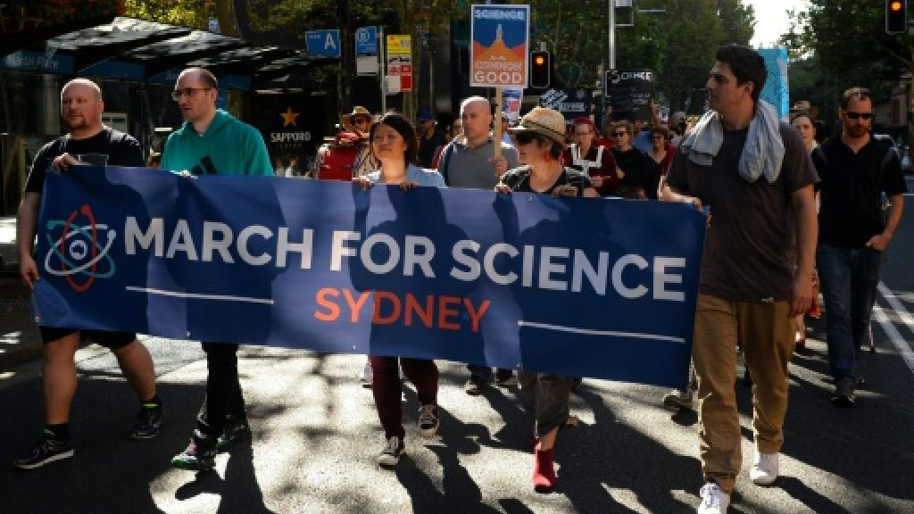 'Assault on facts' energizes global March for Science