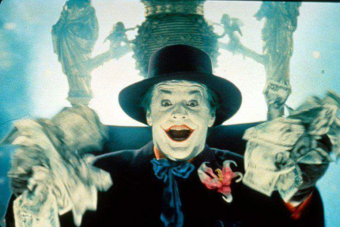 Happy birthday to the Joker, Jack Nicholson!