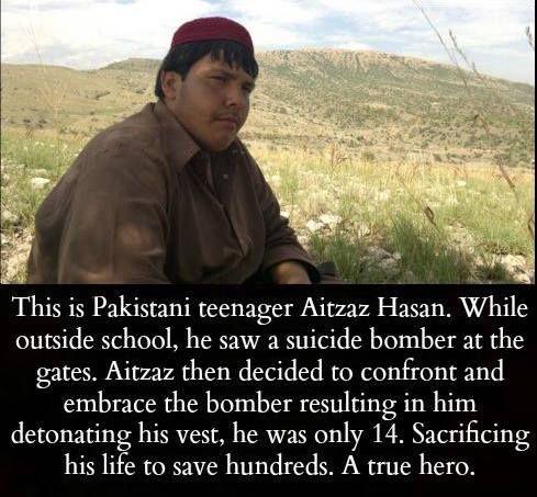 What a brave man! https://t.co/wGeaRMsbEj