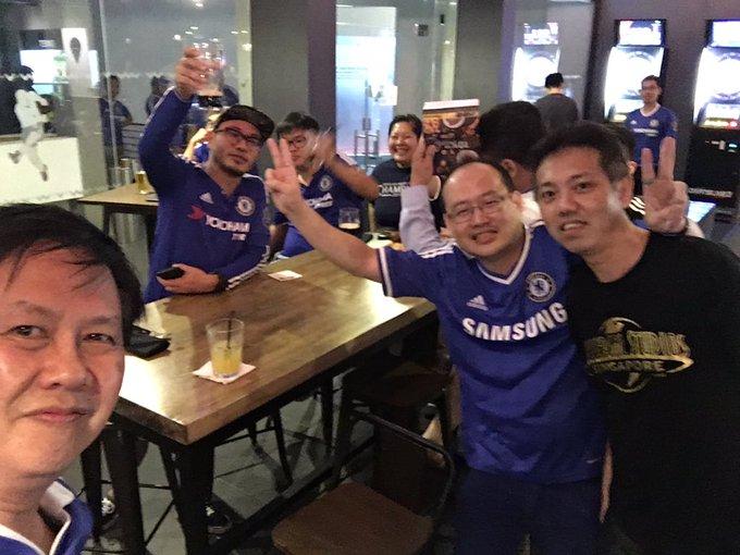 Happy birthday to David Luiz ! From Singapore !