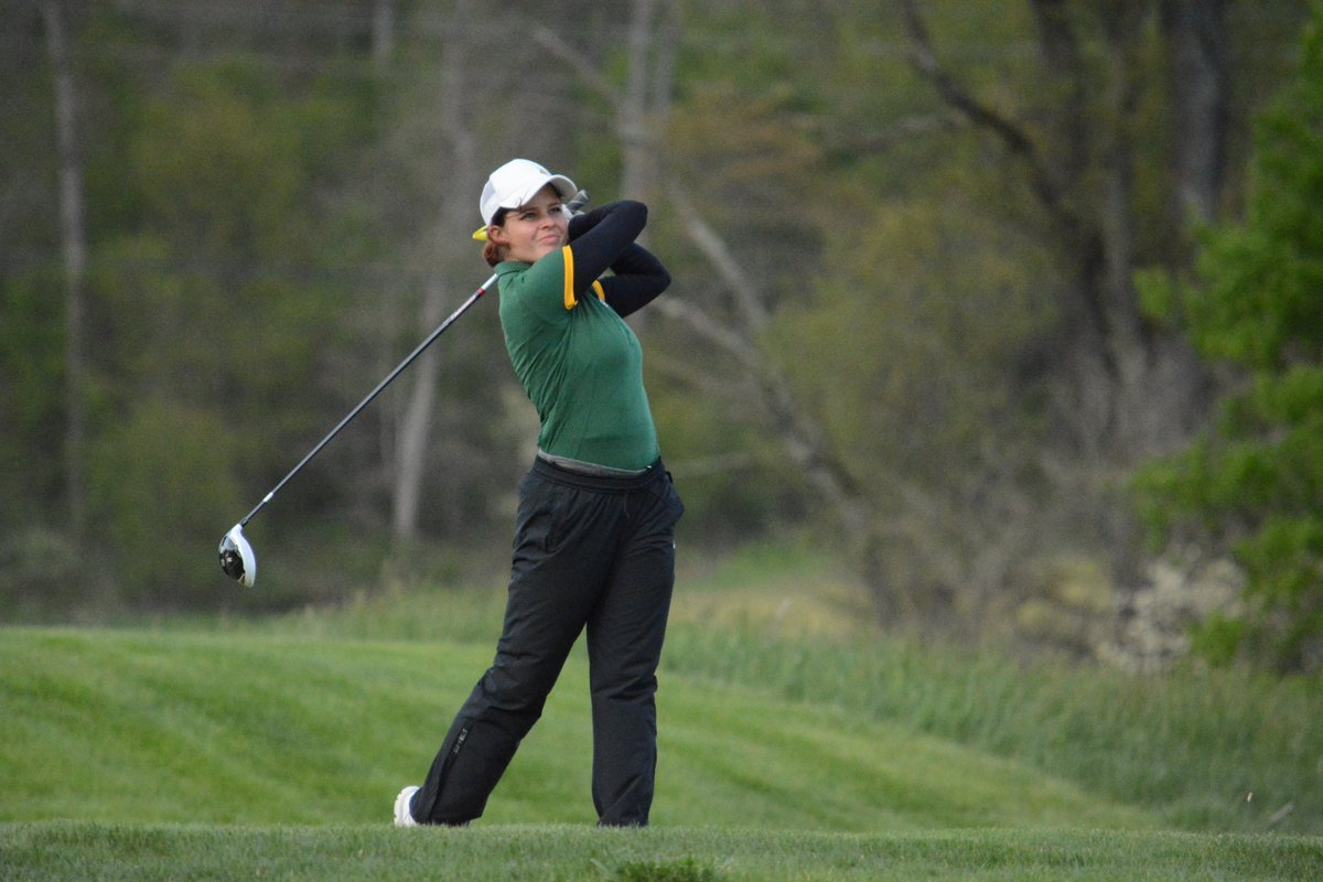 test Twitter Media - Caro Els (t-2nd), Austin Elsner (t-4th) and Karissa Guthrie (t-4th) are in the #GLIAC Championships' top five through two rounds. #WeAreNMU https://t.co/XldkdF83U3