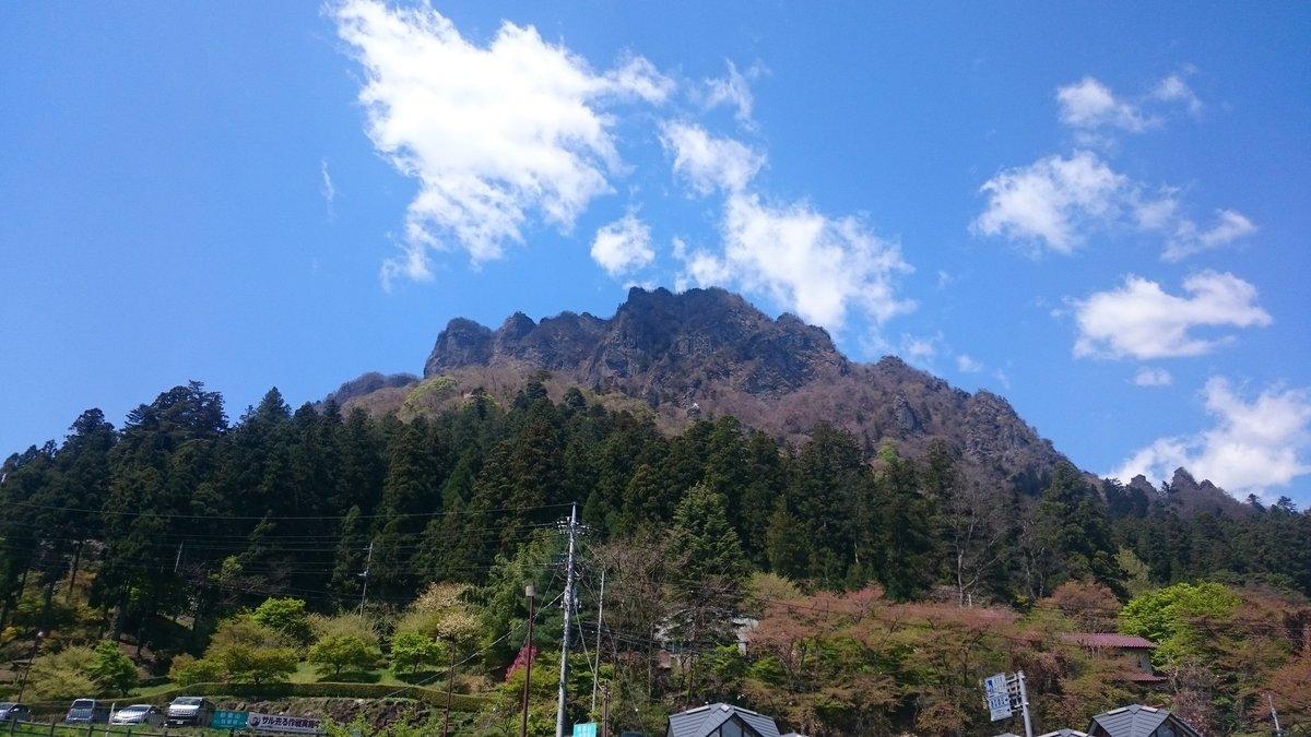 妙義山キタ━(゚∀゚)━!#ヤマノススメ