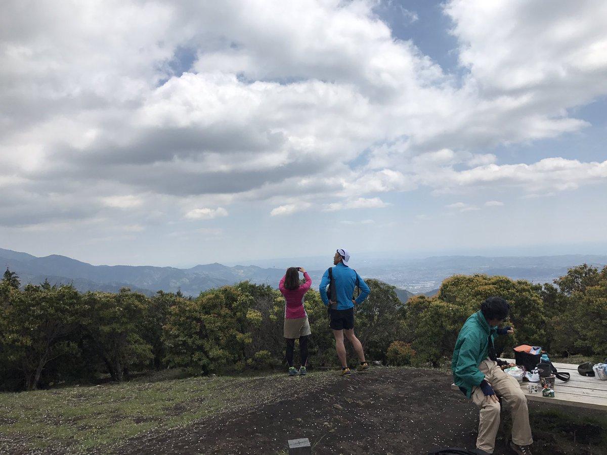シダンゴ山山頂。景色良いね。大山も見えるぞ#ヤマノススメ