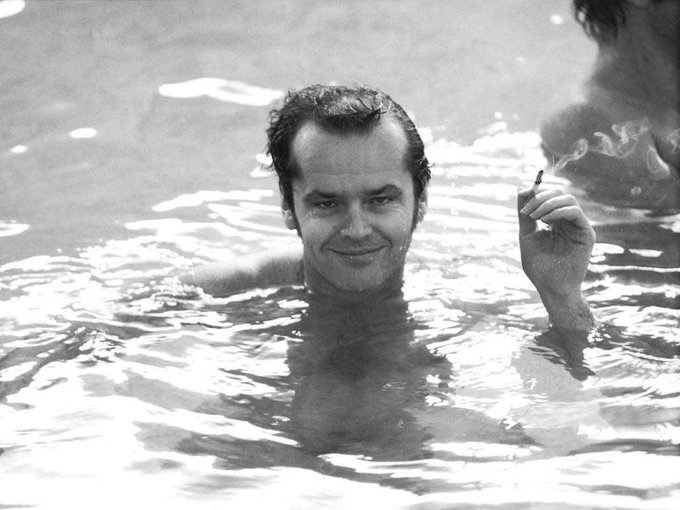Happy 80th Birthday to Jack Nicholson!  Pictured here in his natural state.